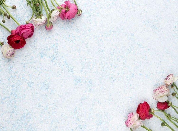 Цветя-Фототапет Фон с цветя