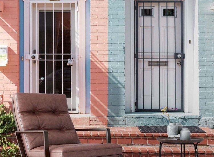 Сгради и забележителности-Фототапет Поглед от улицата