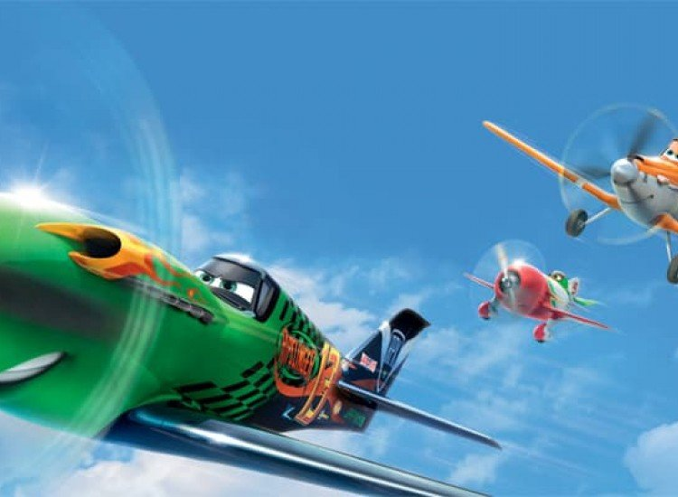 Детски фототапети-Фототапет Самолетите в полет
