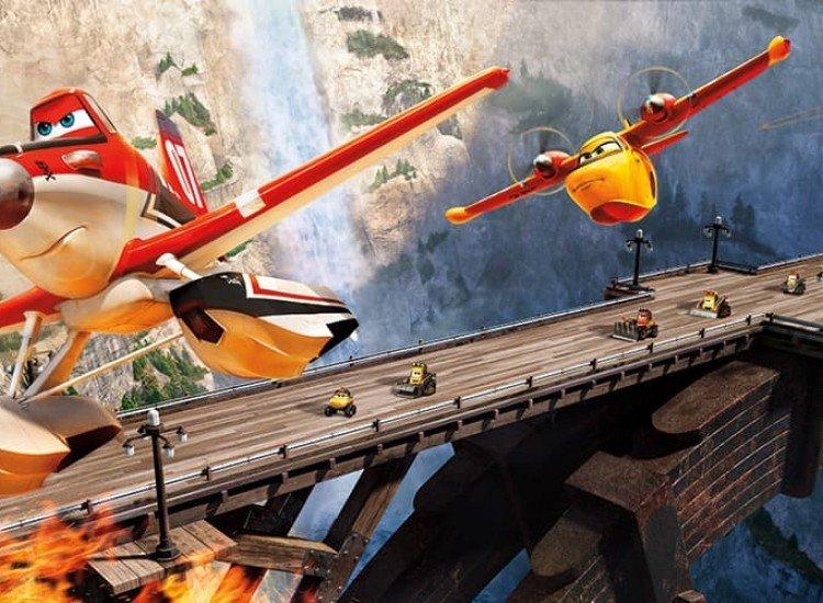 Детски фототапети-Фототапет Самолети