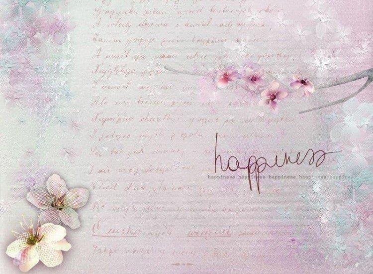 Винтидж фототапети-Фототапет Happiness