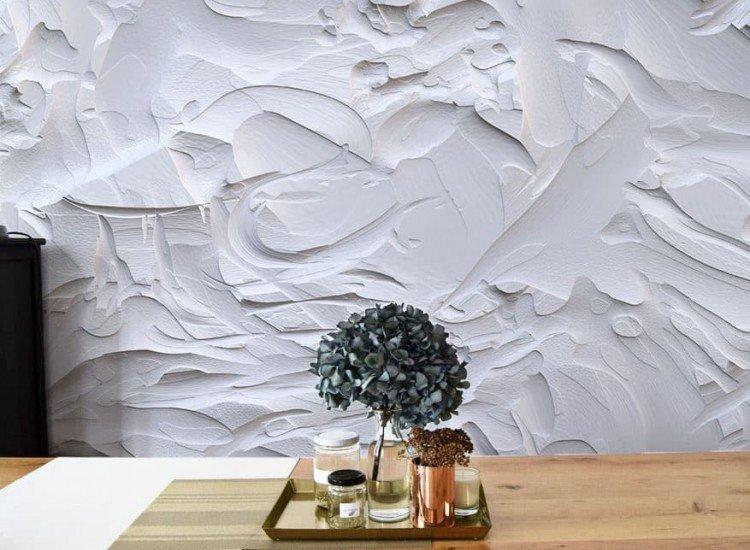 Текстури-Фототапет Светла замазка