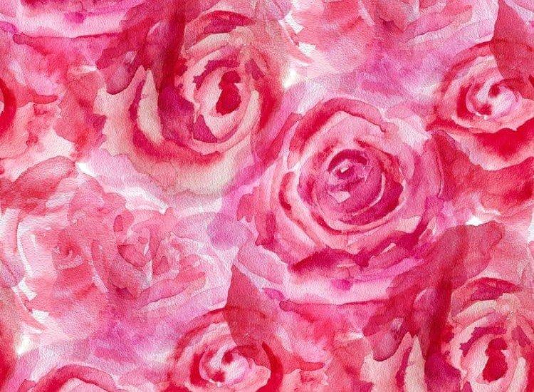 Цветя-Фототапет Акварелни рози