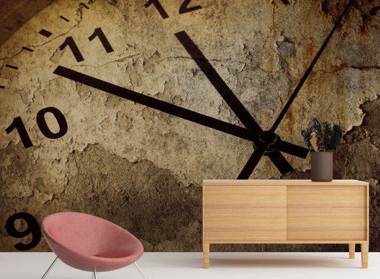 Винтидж фототапети-Фототапет Часовник
