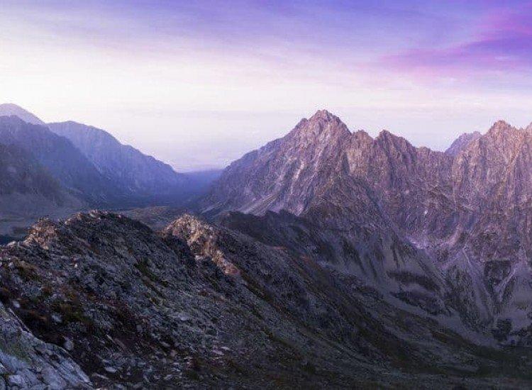 Пейзажи и природа-Фототапет Заснежена планина