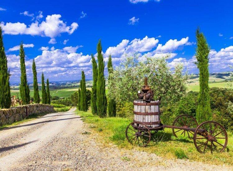 Пейзажи и природа-Фототапет Тоскански пейзаж