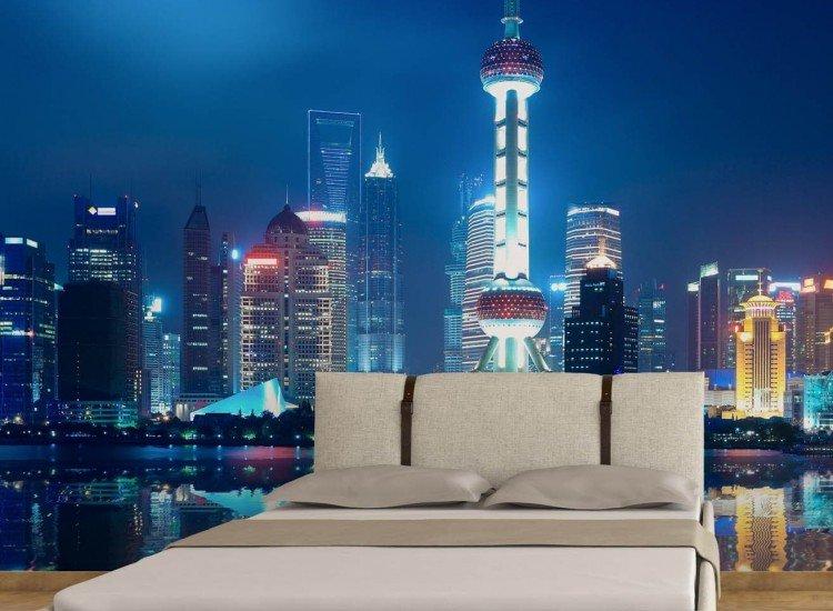 Градски пейзажи-Фототапет Перлата на изтока, Шанхай