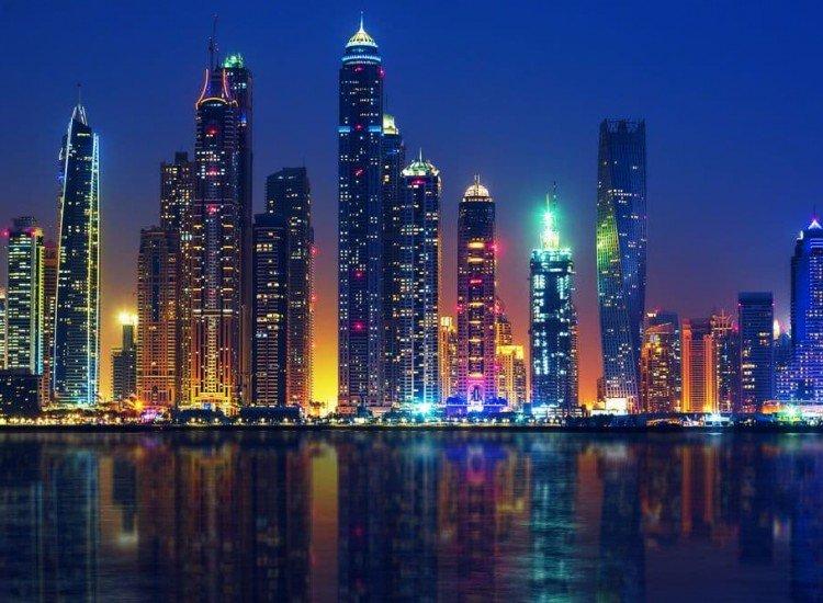Градски пейзажи-Фототапет Дубай