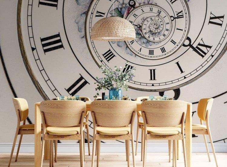 Фототапет Спираловиден часовник - Фототапети БГ