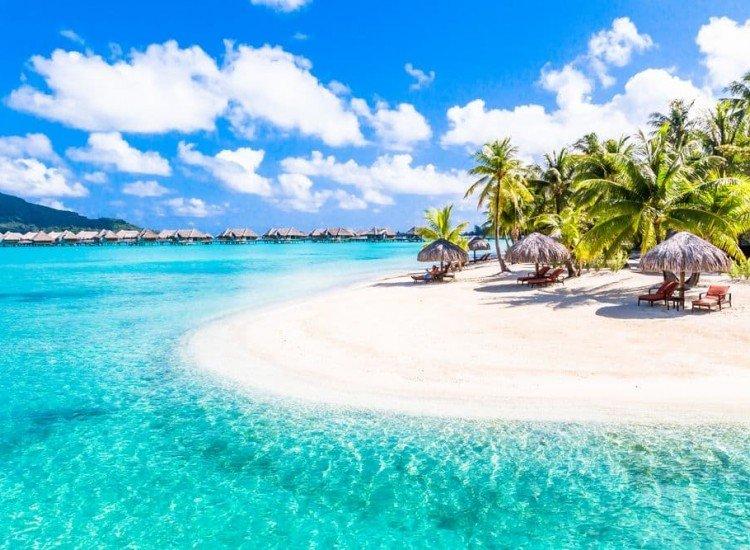 Морски и тропически-Фототапет Бора Бора