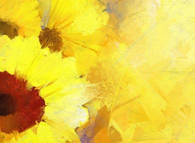 Цветя-Фототапет Слънчогледи