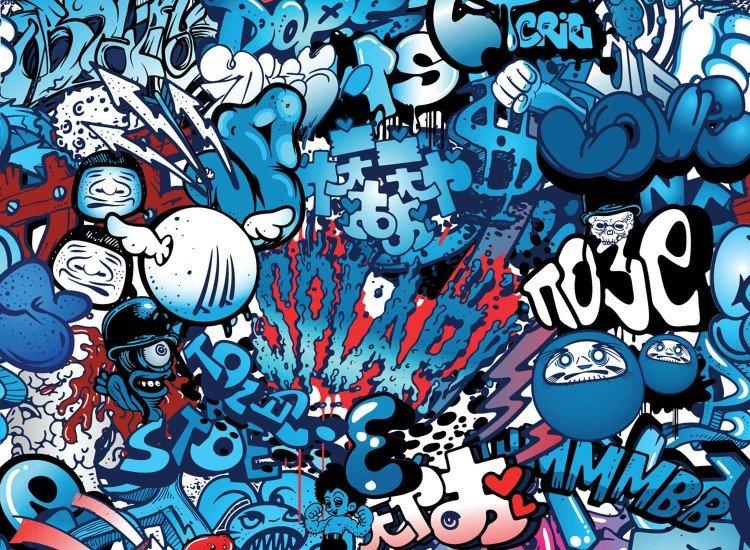 Тийн-Фототапет Графити