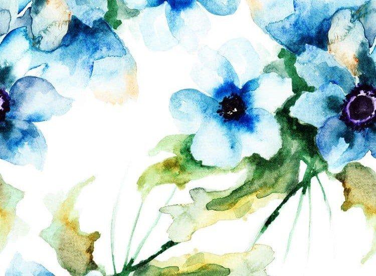Цветя-Фототапет Свежи цветя
