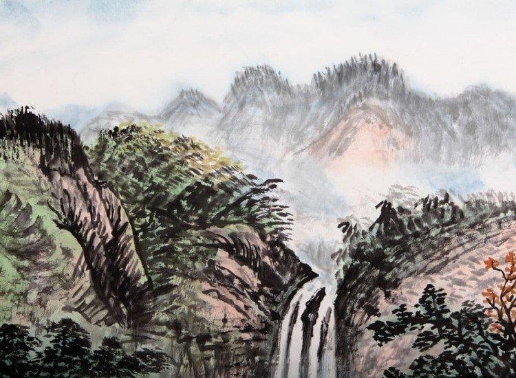 Фототапет Китайска рисунка