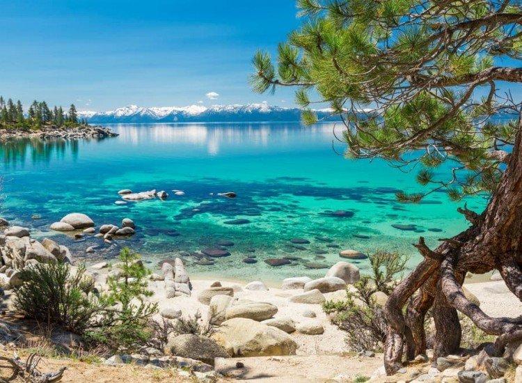 Пейзажи и природа-Фототапет Езерото Тахо