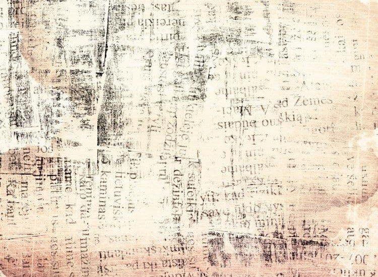 Текстури-Фототапет Абстрактен текст