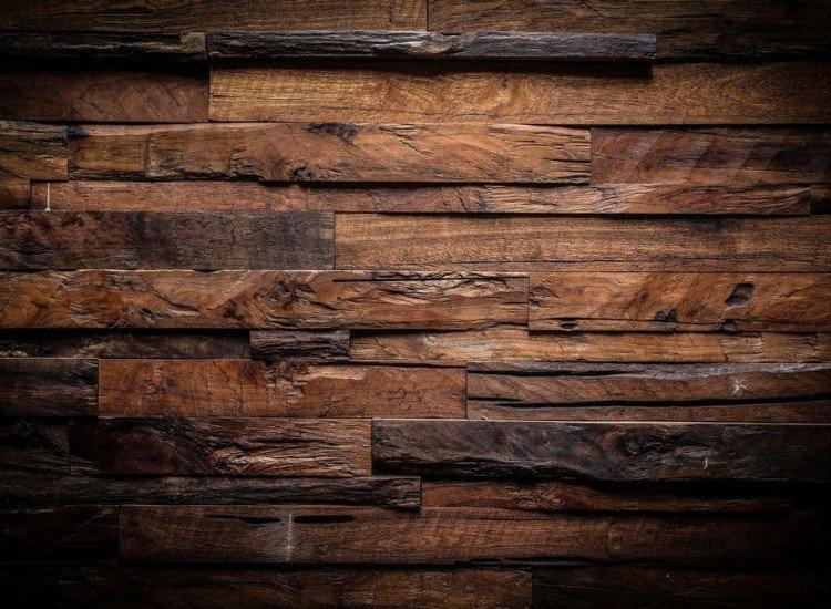 Фототапет Стена от дъски