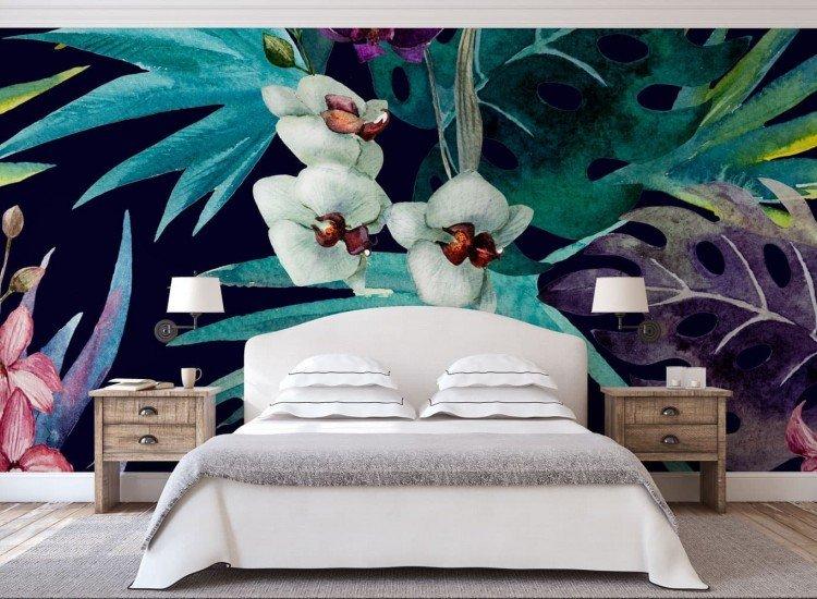 Цветя-Фототапет Тропически орхидеи