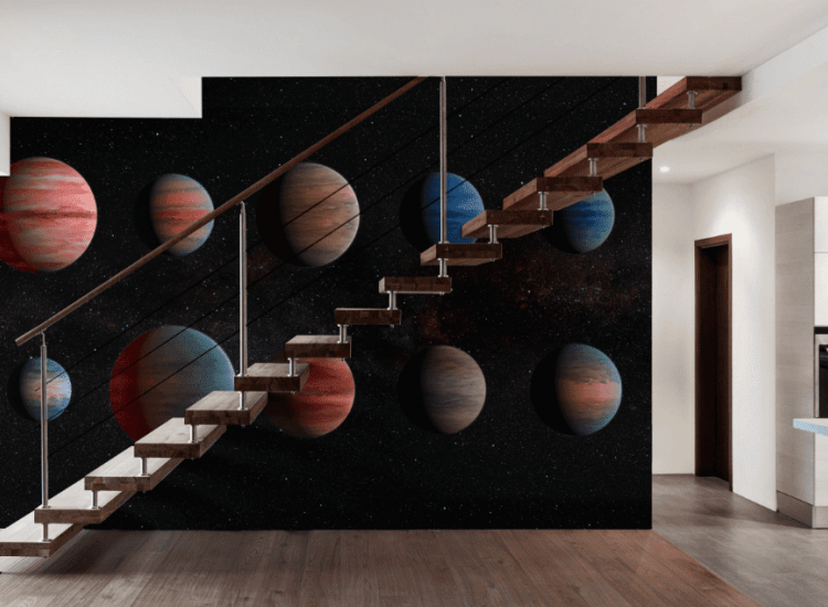 Космос-Фототапет Планети