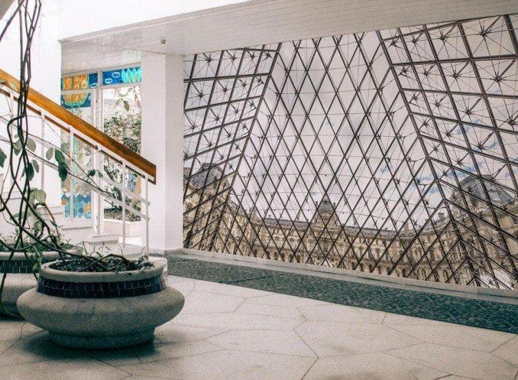 Сгради и забележителности-Фототапет Лувър