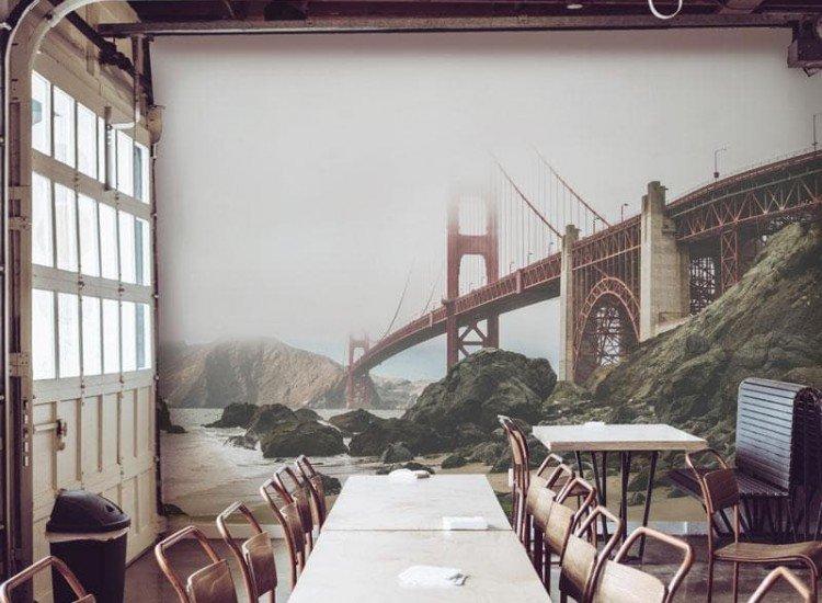 Сгради и забележителности-Фототапет Голдън Гейт
