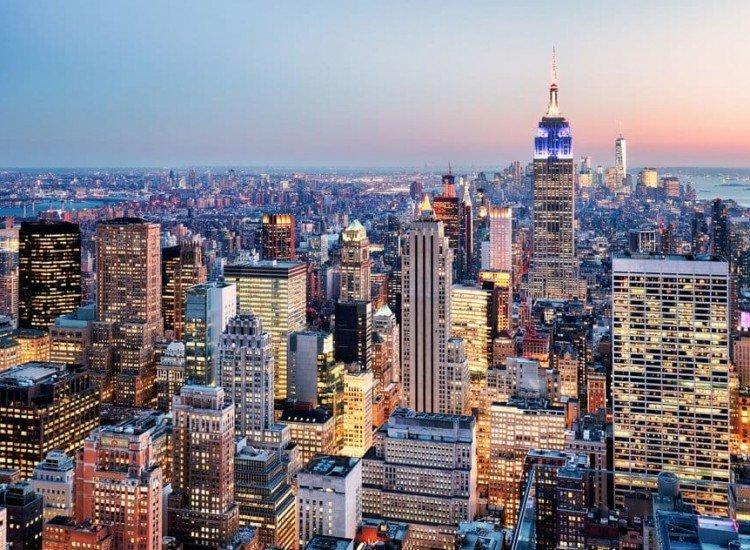 Градски пейзажи-Фототапет Ню Йорк