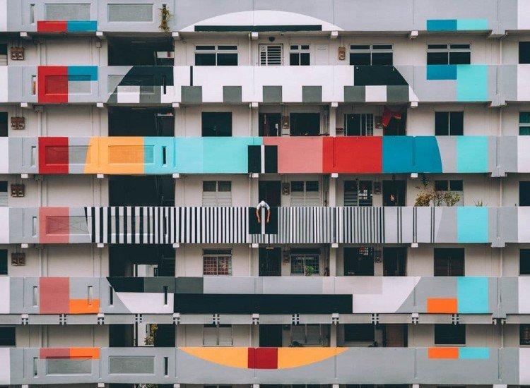Архитектура-Фототапет Жилищна сграда