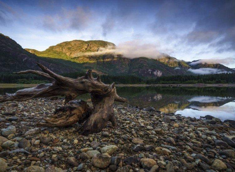 Пейзажи и природа-Фототапет Пейзаж в Канада