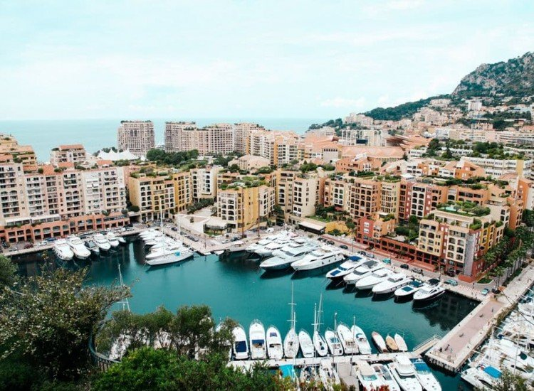 Сгради и забележителности-Фототапет Порт Монако