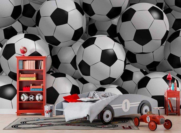 Фототапет Футболни топки