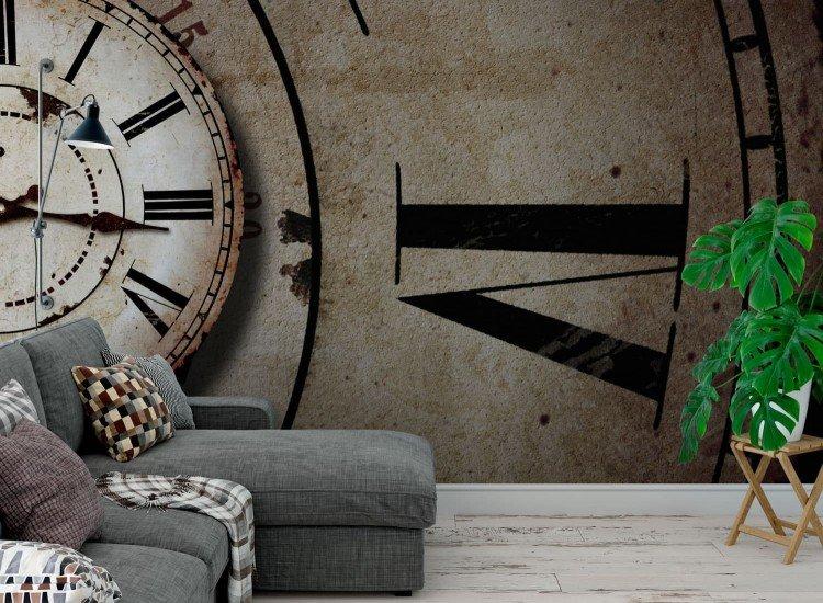 Фототапет Винтидж часовник