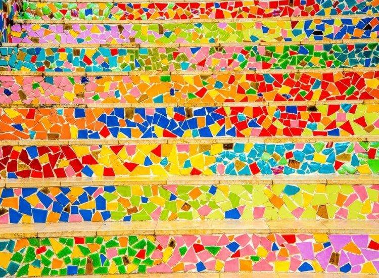 Текстури-Фототапет Арт конфети