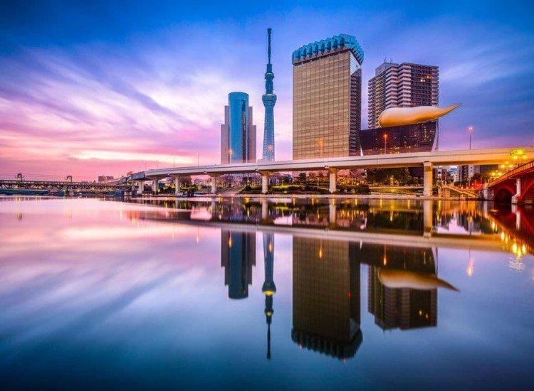 Градски пейзажи-Фототапет Токио
