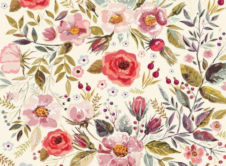Цветя-Фототапет Класически Цветя