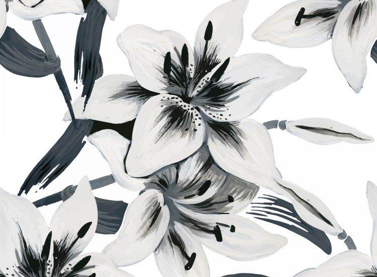 Цветя-Фототапет Бели цветя