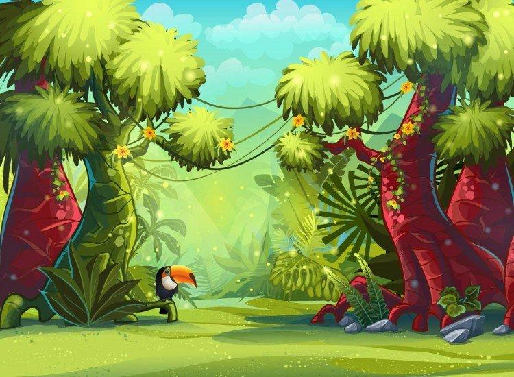 Детски фототапети-Фототапет Джунгла