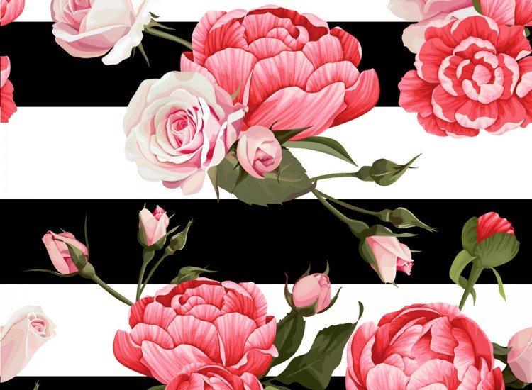 Цветя-Фототапет Арт Рози