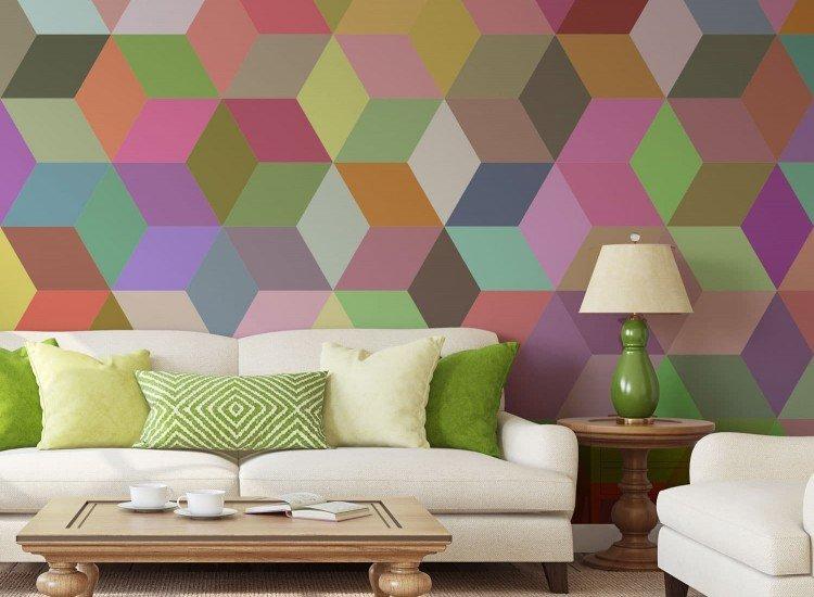 Фототапет Цветна мозайка - Фототапети БГ