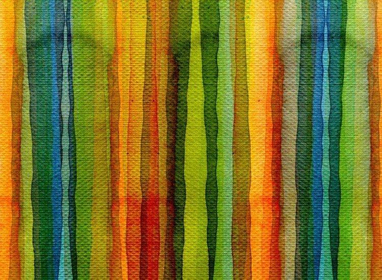 Текстури-Фототапет Цветни линии