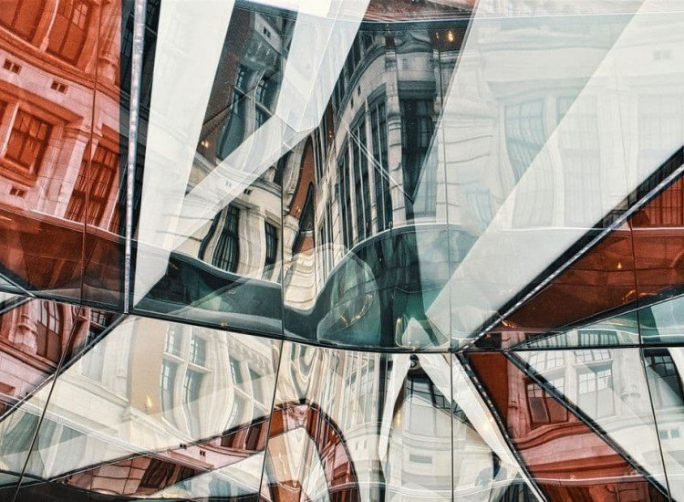 Архитектура-Фототапет Отражения