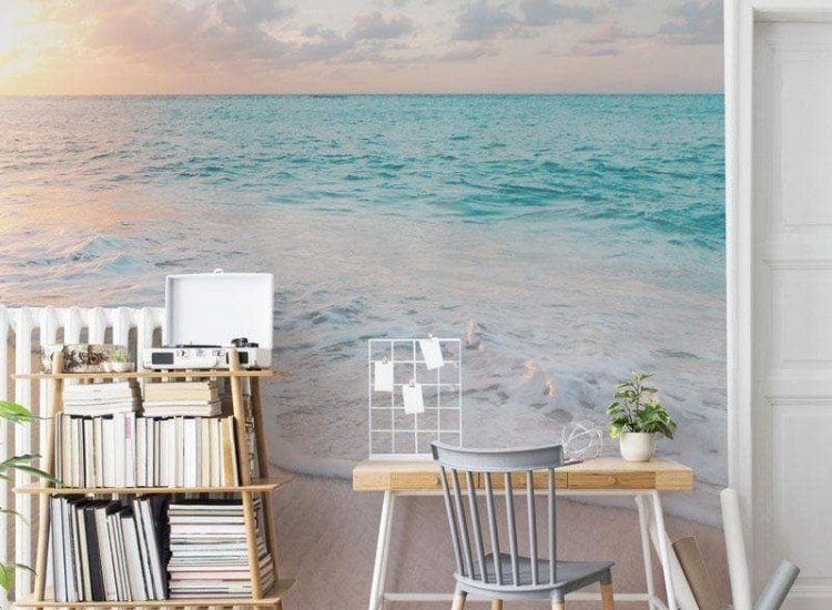 Морски и тропически-Фототапет Плаж