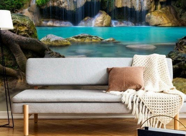 Пейзажи и природа-Фототапет Горски водопад