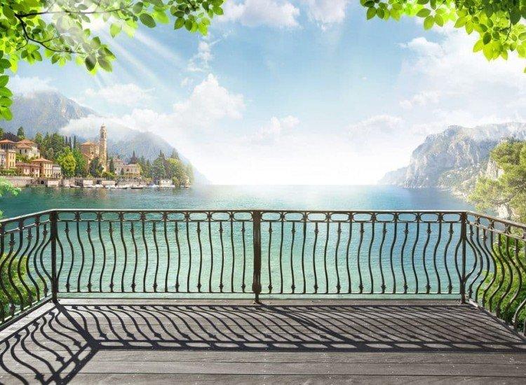 Пейзажи и природа-Фототапет Тераса с изглед