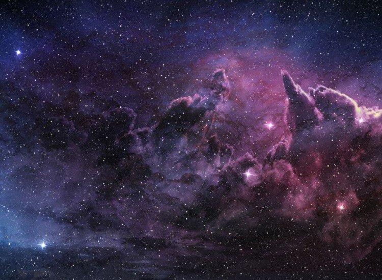 Космос-Фототапет Лилава мъглявина