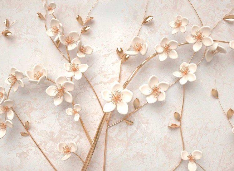 Фототапет 3D цветя - Фототапети БГ