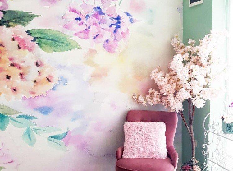Цветя-Фототапет Букет