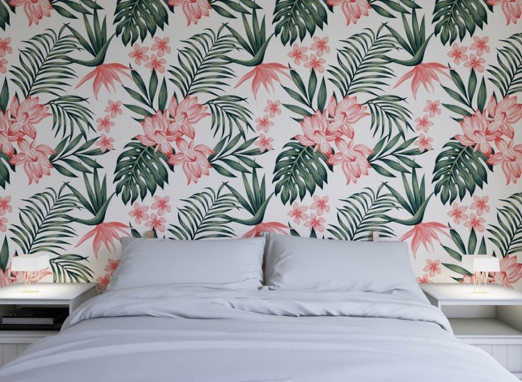 Цветя-Фототапет Тропическа текстура