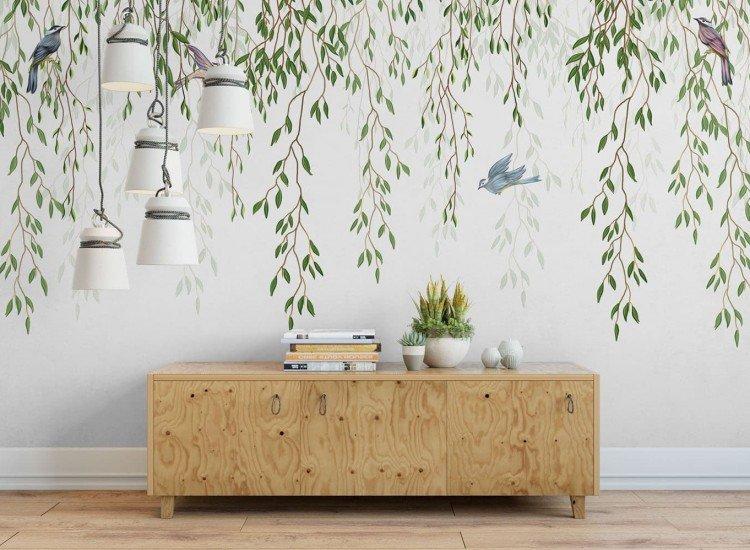 Растения-Фототапет Нежни клони