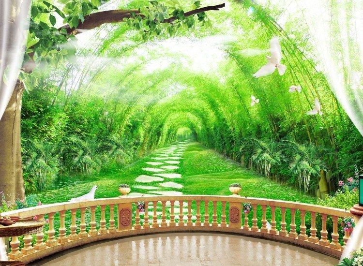 Фототапет Към градината - Фототапети БГ