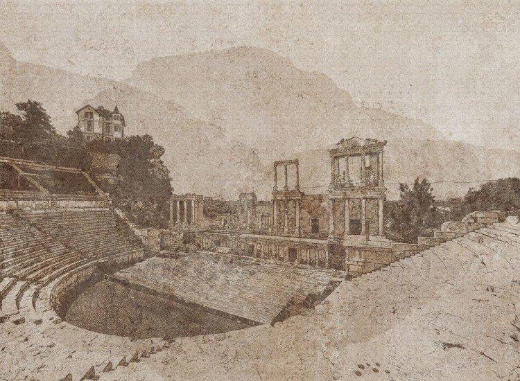 Фототапет Античен театър, Пловдив